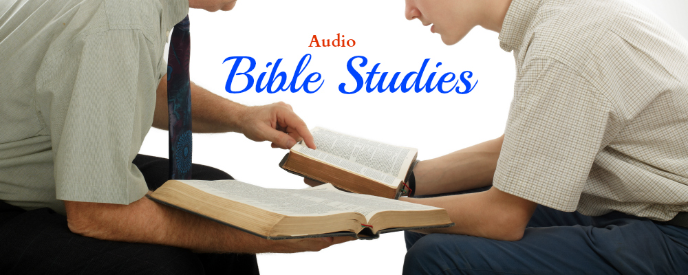 audio Bible studies