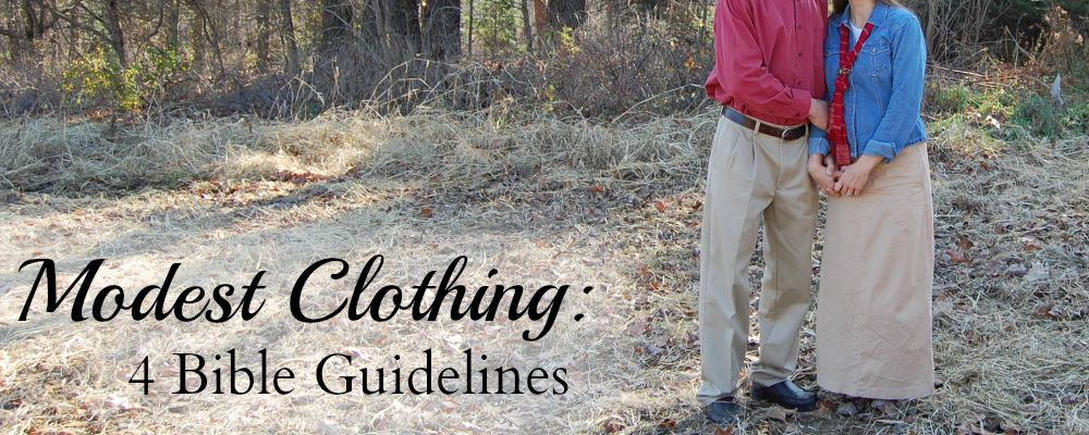 Modest Clothing 4 Bible Guidelines